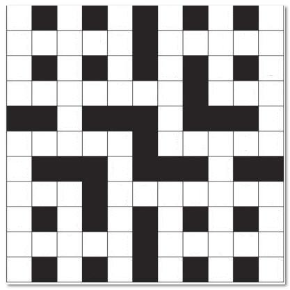Blank Crossword Quilt idea
