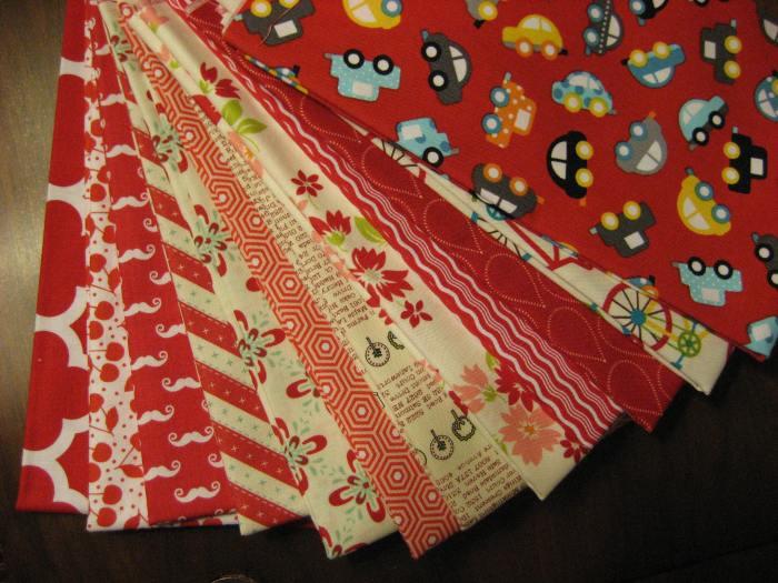 New fabrics bottom to top
