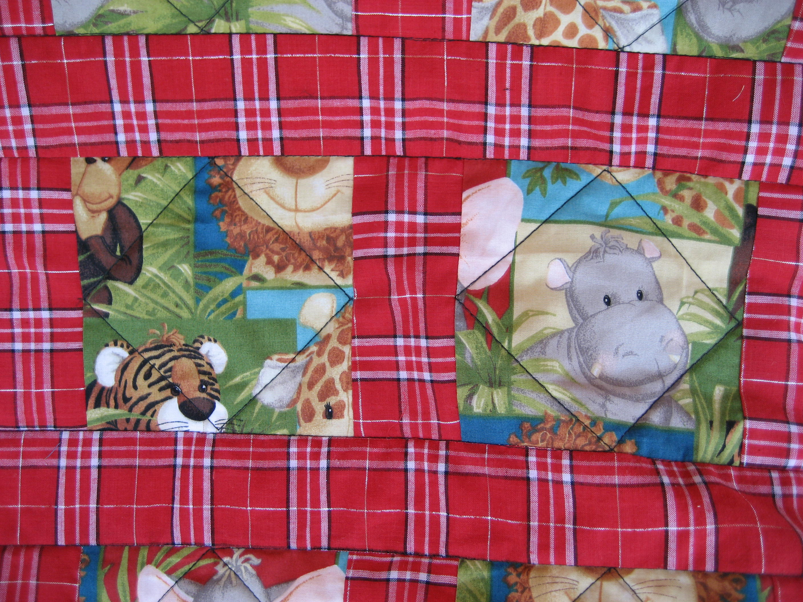 Front quilting