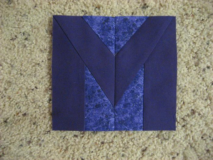 Letter M example