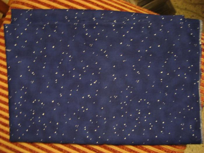 Midnight blue stars