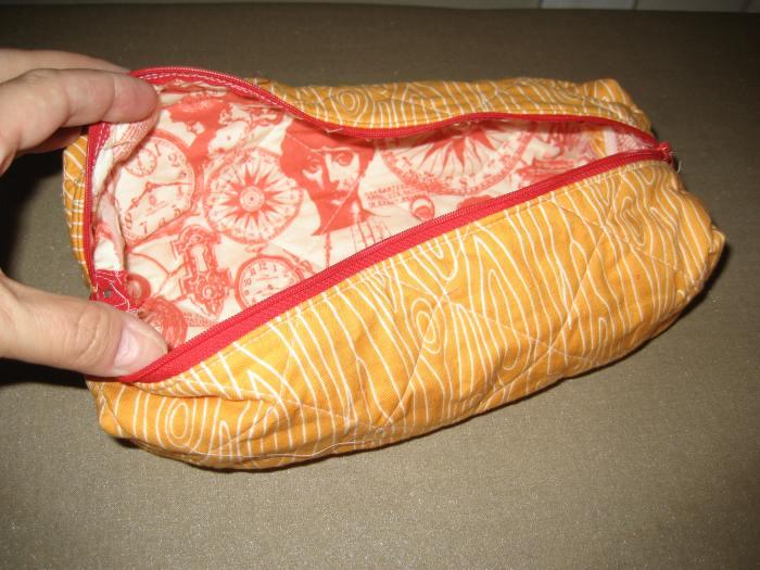 zipper pouch lining