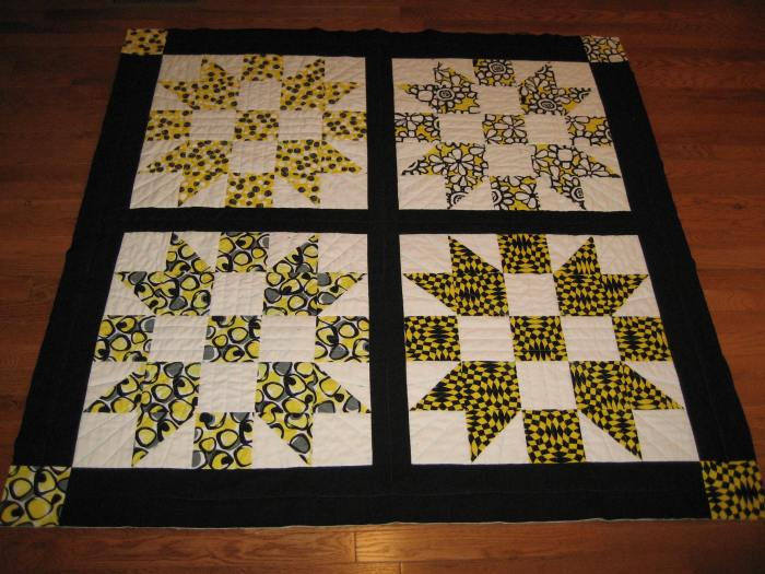 Completed top squared