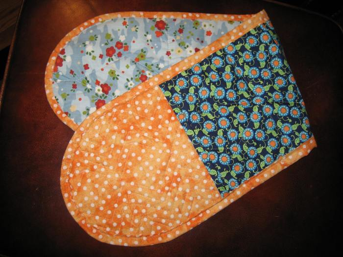 double potholder #2