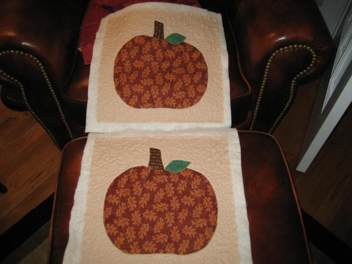 two pumpkins done