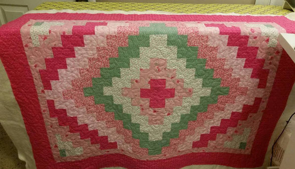 Quilting for Sharon James