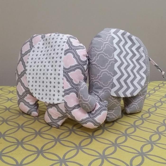 Campbells elephant plushies